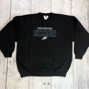 Vintage Philadelphia eagles Crewneck sweater large